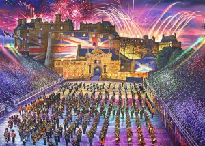 The Royal Edinburgh Military Tattoo - 1000 Pieces