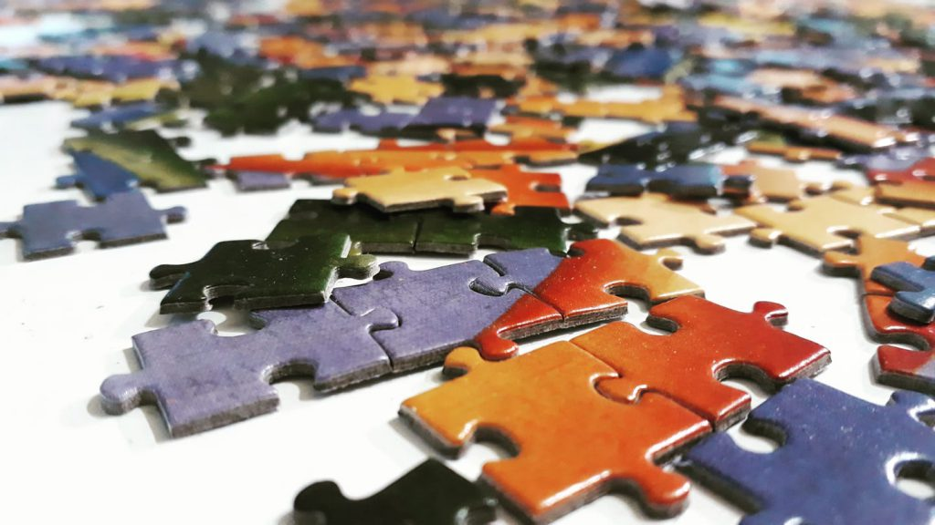 Always choose a puzzle with excellent quality pieces
