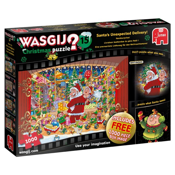 Wasgij Christmas 15 Santa's Unexpected Delivery