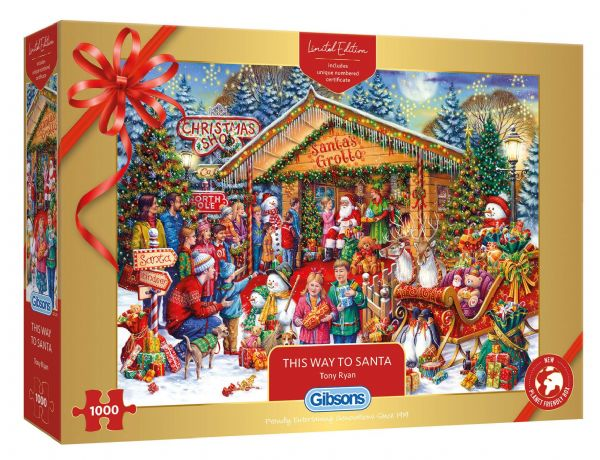 This Way to Santa - Limited Edition - 1000 Pieces