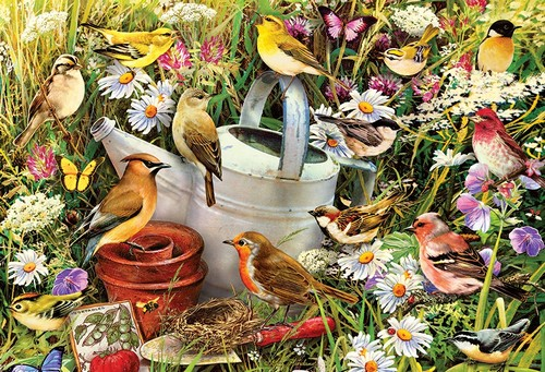 Hidden Hideaway 500 Piece Jigsaw Puzzle Free Delivery