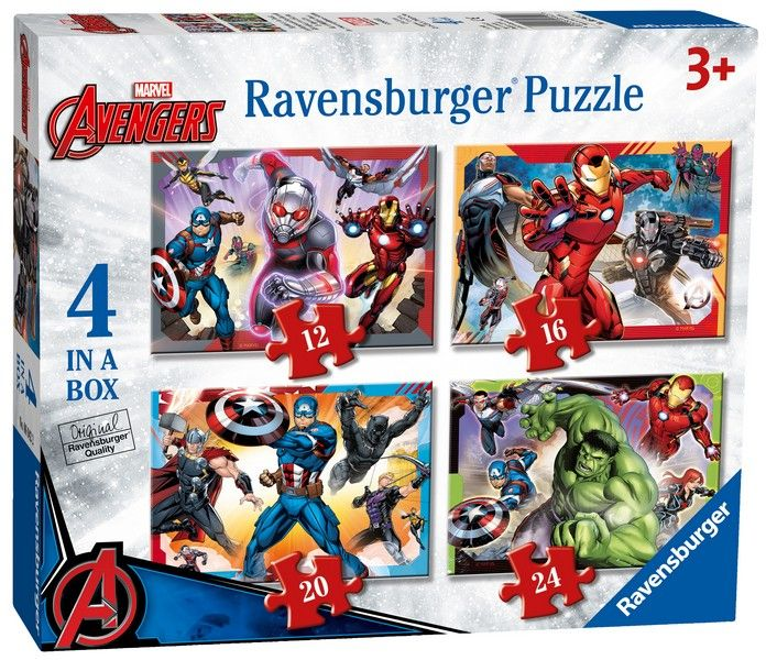 Avengers Assemble - 4 in a Box
