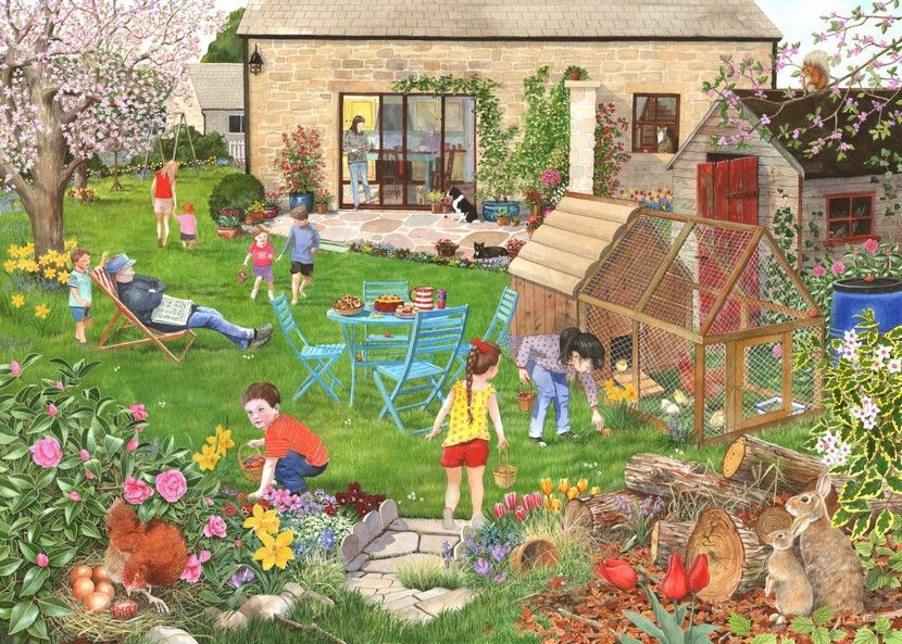 Egg Hunt 500 Piece|Yorkshire Jigsaw Store