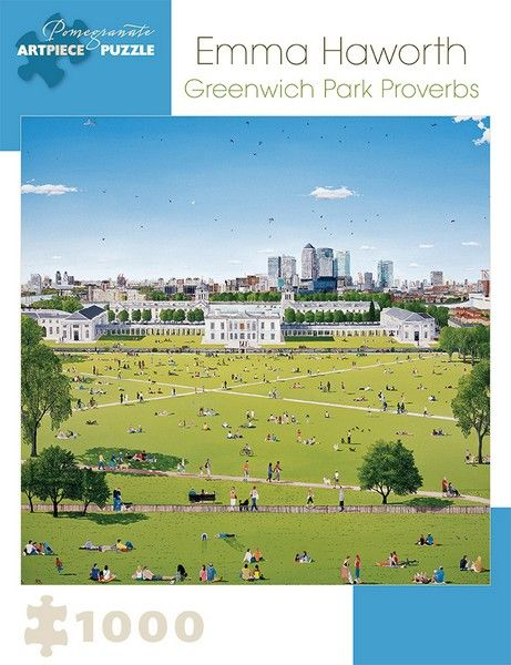 Emma Haworth - Greenwich Park Proverbs - 1000 Pieces