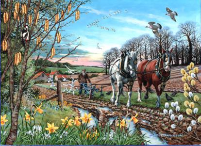 Final Furrow 500 Piece Jigsaw Puzzle |House of Puzzles