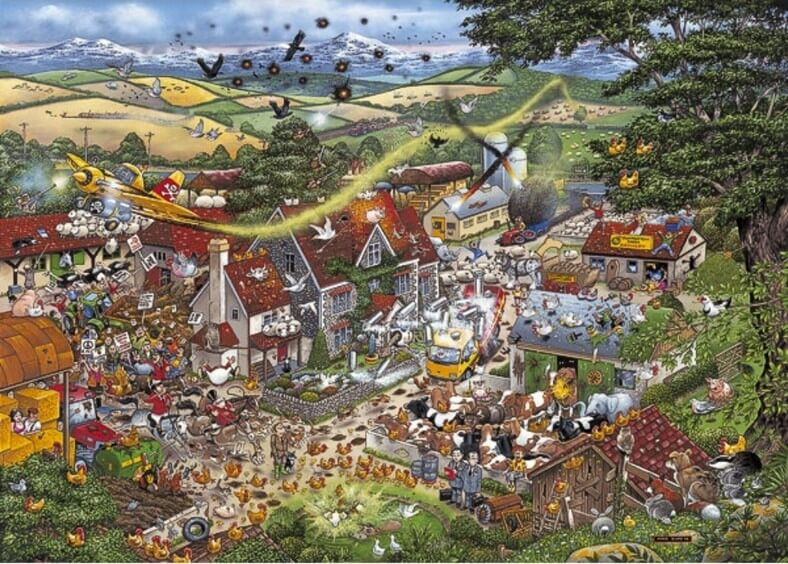I Love The Farmyard - 1000 Pieces