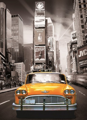 New York Yellow Cab - 1000 Piece|Yorkshire Jigsaw Store