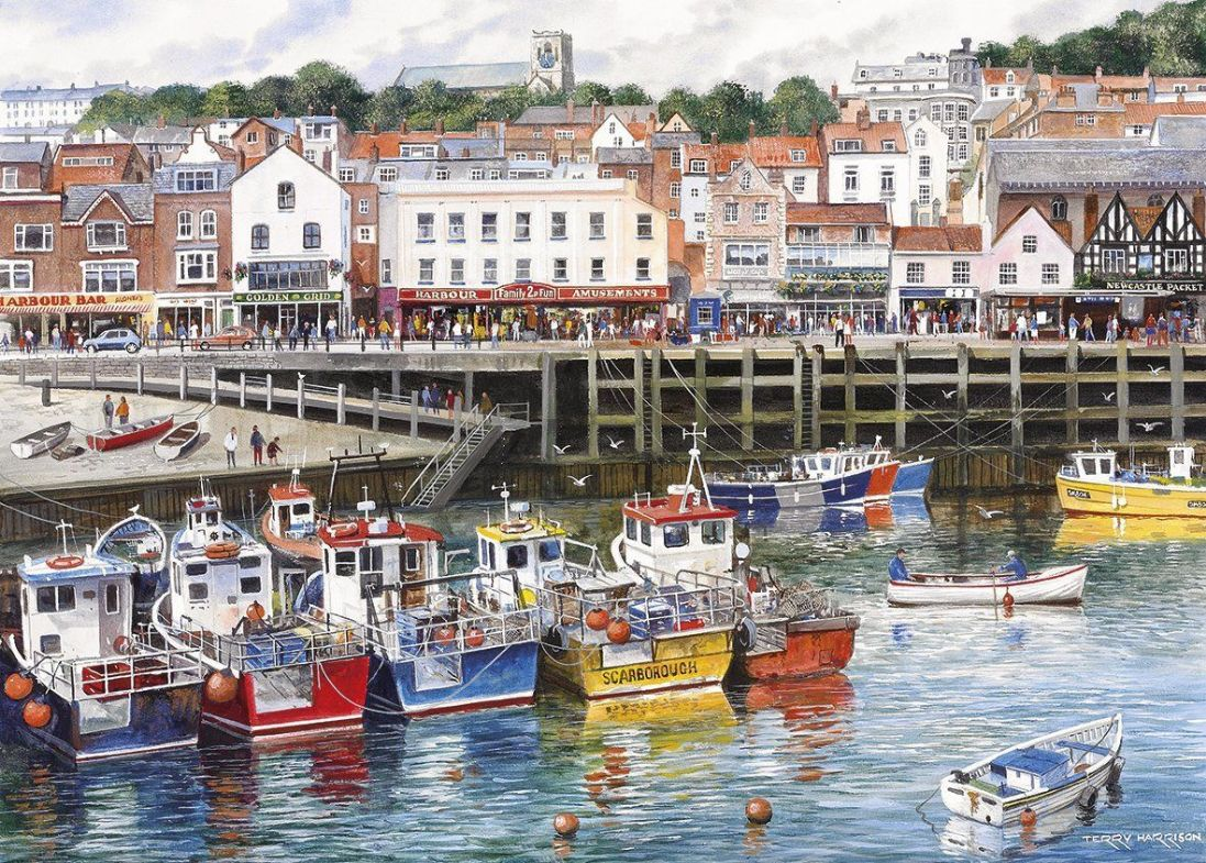 Scarborough 1000 Piece Jigsaw Puzzle Yorkshire Jigsaw Store