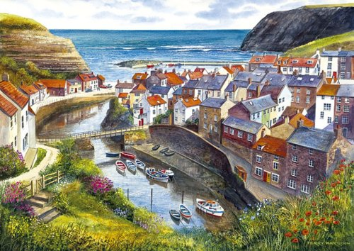 Staithes - 1000 Pieces