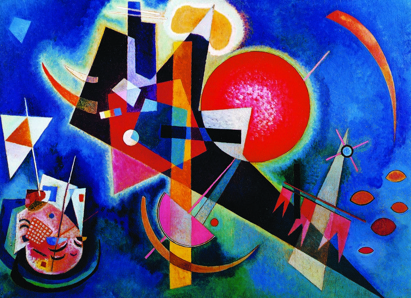 Wassily Kandinsky - In Blue - 1000 Pieces