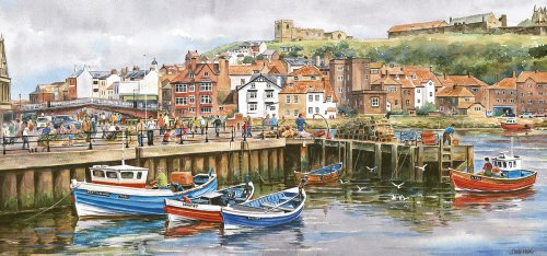 Whitby Harbour Jigsaw Puzzles|Gibsons Jigsaws