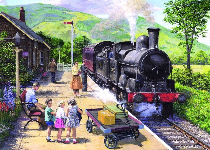 All Aboard to Keswick - 1000 Pieces