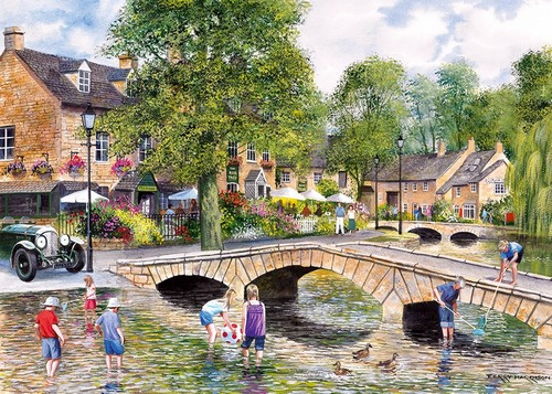 Bourton on the water - 1000 Pieces
