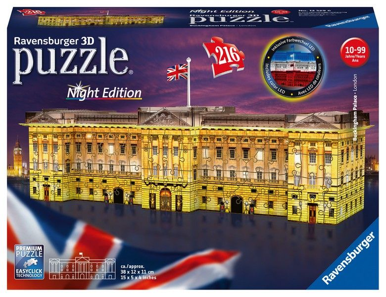 Buckingham Palace 3D - Night Edition