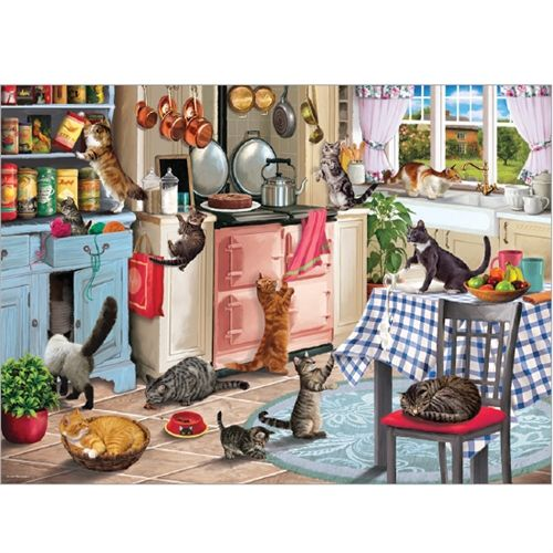 Cats In The Kitchen 1000 Pieces