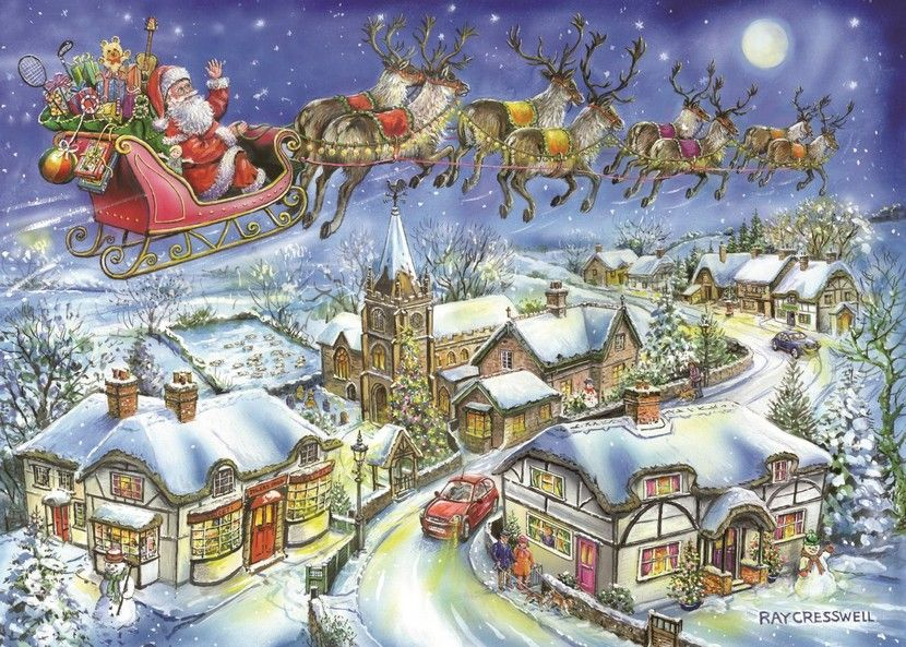 Christmas Eve - 1000 Pieces|House of Puzzles