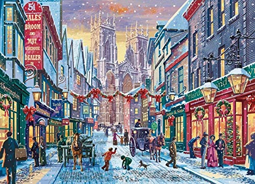 Christmas in York - 1000 Pieces