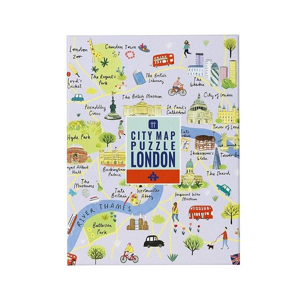 City Map London - 250 Pieces