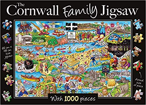 Cornwall Family - 1000 Pieces |Yorkshire Jigsaw Store