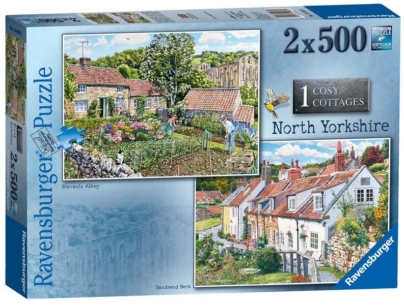 Cosy Cottages - North Yorkshire - 2 x 500 Pieces |Ravensburger