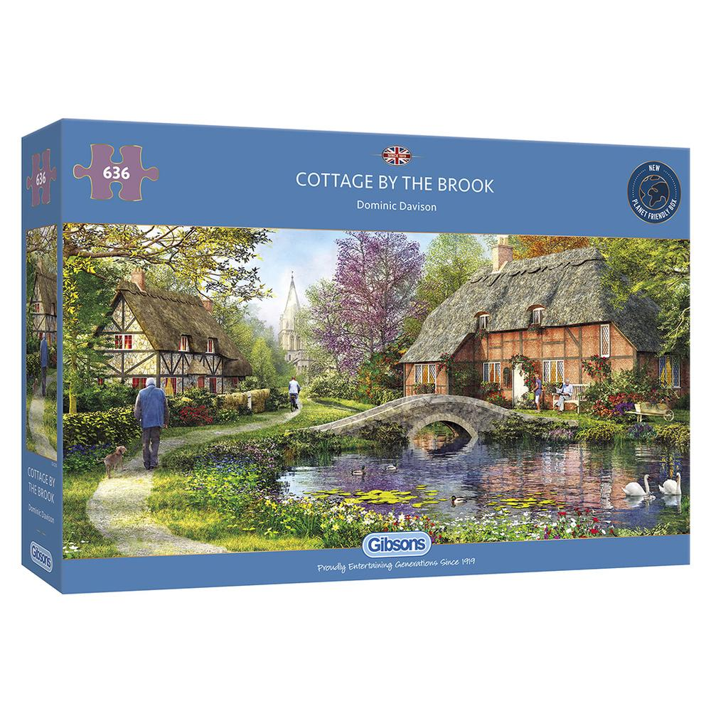 Cottage by the Brook - 636 Pieces
