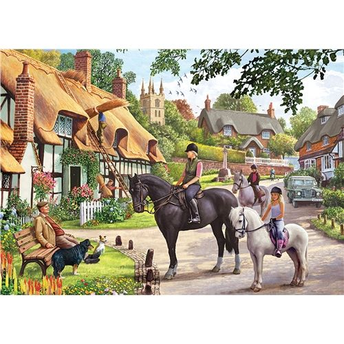 Country Life  - 1000 Pieces |Yorkshire Jigsaw Store