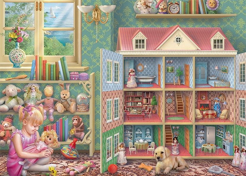 Dolls House Memories - 1000 Pieces