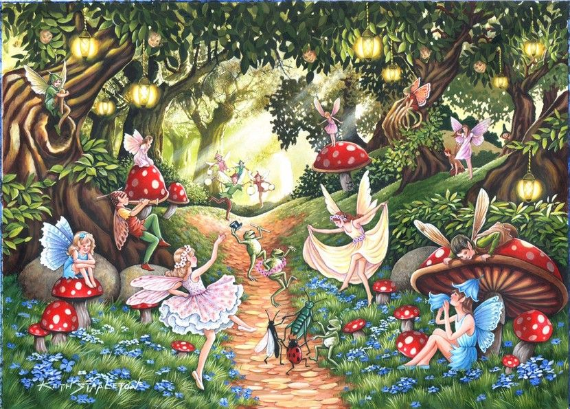 Faerie Dell - 500XL Pieces|Yorkshire Jigsaw Store