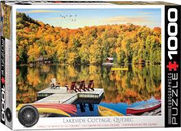 Lakeside Cottage Quebec - 1000 Pieces