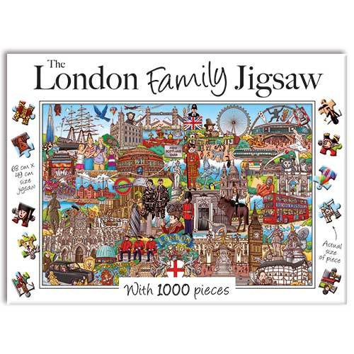London Family - 1000 Pieces