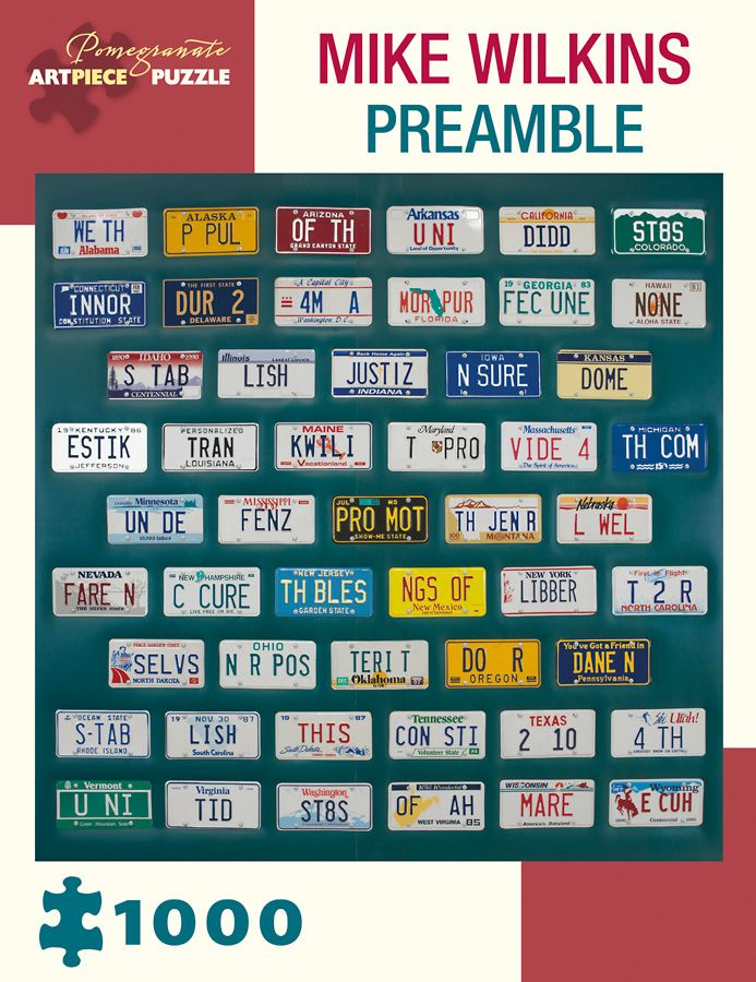 Mike Wilkins - Preamble - 1000 Pieces