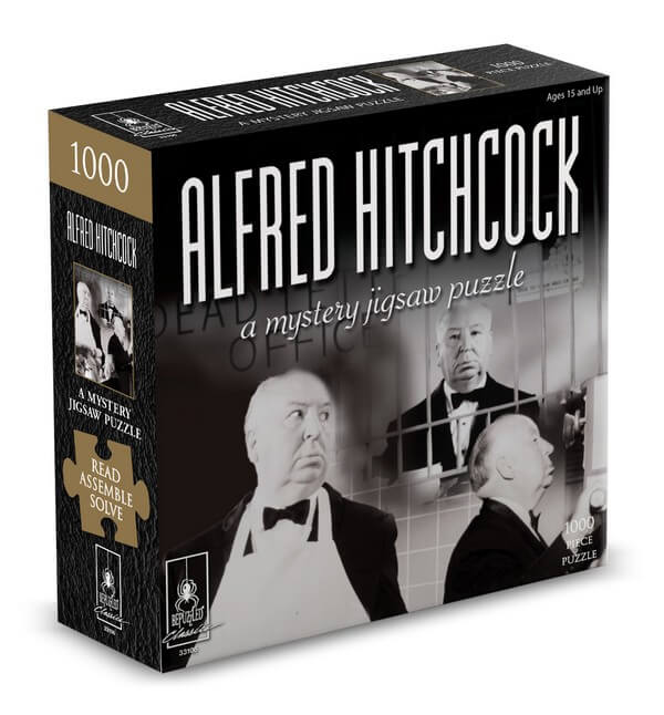 Mystery Puzzle Alfred Hitchcock - 1000 Pieces