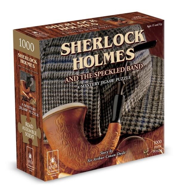 Mystery Puzzle Sherlock Holmes - 1000 Pieces