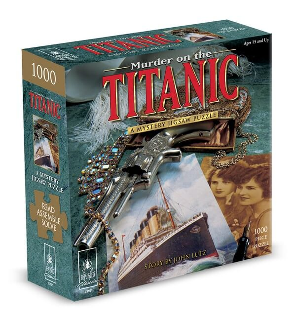 Mystery Puzzle Titanic - 1000 Pieces