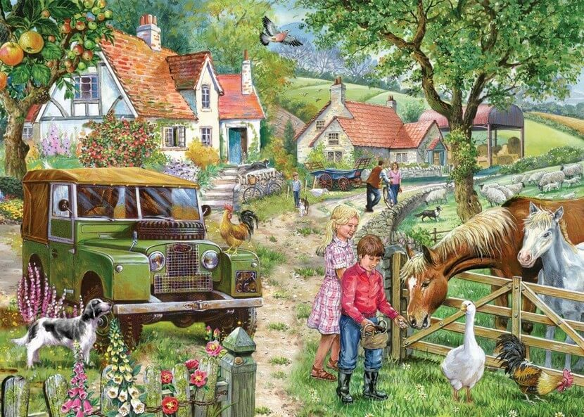 Orchard Farm - 1000 Pieces