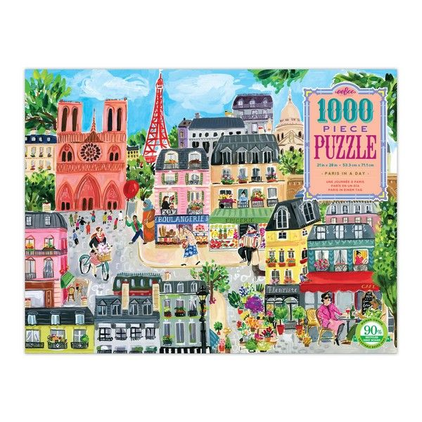 Paris In A Day - 1000 Pieces
