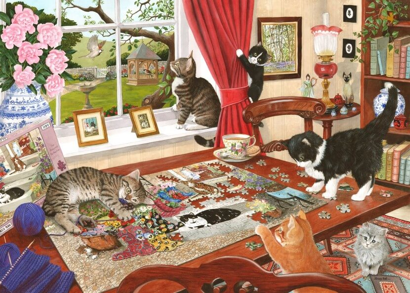 Puzzling Paws - 1000 Pieces