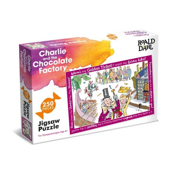 Roald Dahl Charlie and the Chocolate - 250 Pieces
