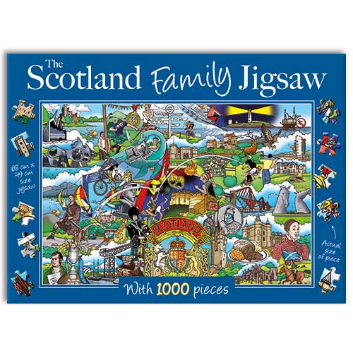Scotland Family - 1000 Pieces |Yorkshire Jigsaw Store