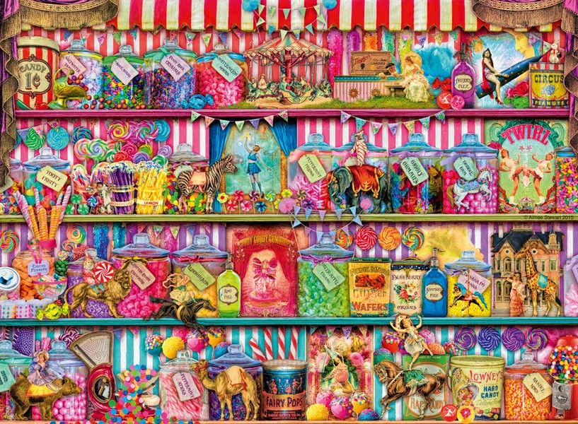 The Sweet Shop - 500 Pieces
