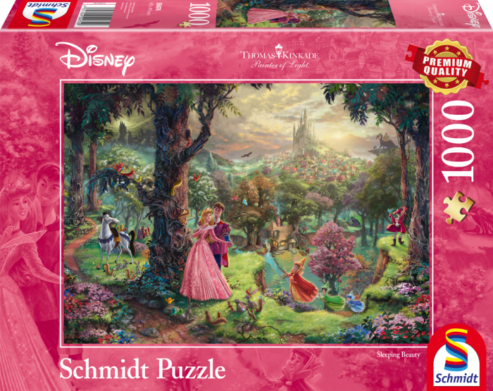 Thomas Kinkade - Disney Sleeping Beauty - 1000 Pieces