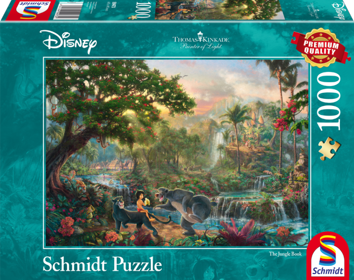 Thomas Kinkade - Disney The Jungle Book - 1000 Pieces