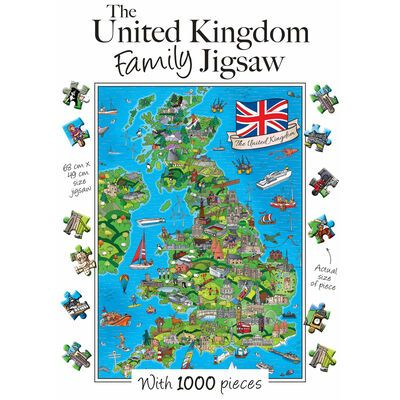 United Kingdom Family - 1000 Pieces