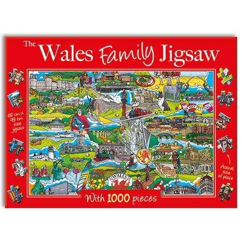 Wales Family - 1000 Pieces