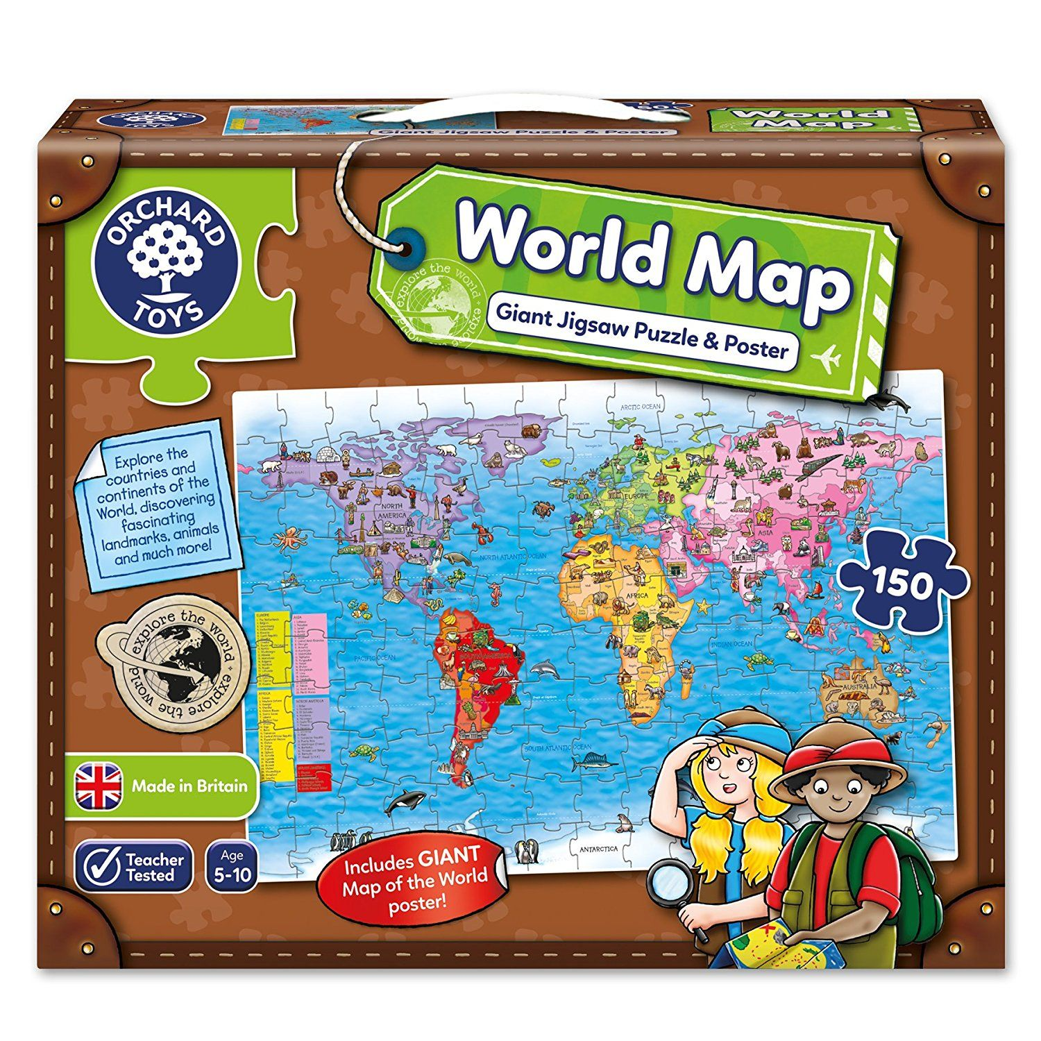World map yorkshire jigsaw store gumiabroncs Images