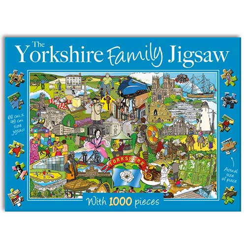 Yorkshire Family - 1000 Pieces